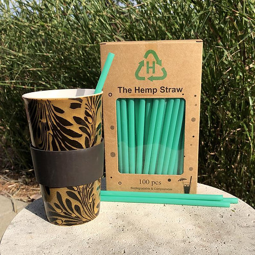 BOGO Biodegradable Hemp Straws 100ct