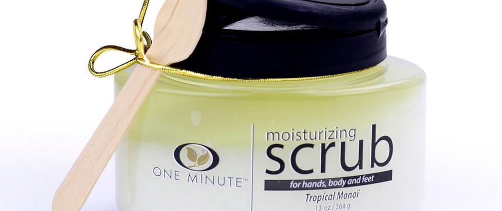 13oz Exfoliating Tropical Monoi Salt Scrub