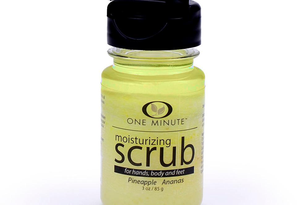 3oz Exfoliating Pineapple Salt Scrub