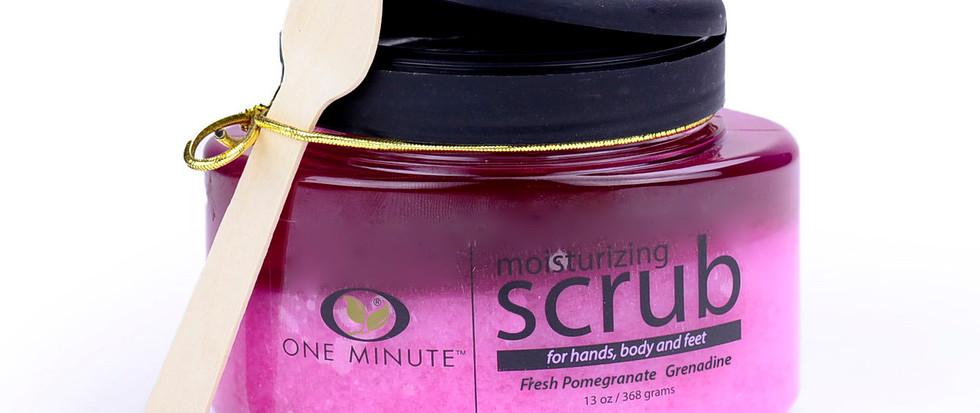 13oz Exfoliating Pomegranate Salt Scrub