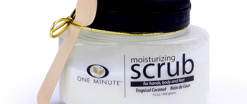 13oz Exfoliating Tropical Coconut Salt Scrub