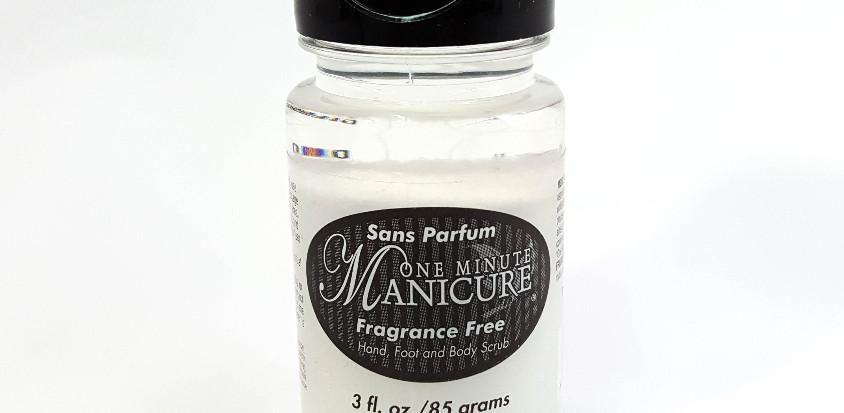 3oz Exfoliating Fragrance Free Salt Scrub
