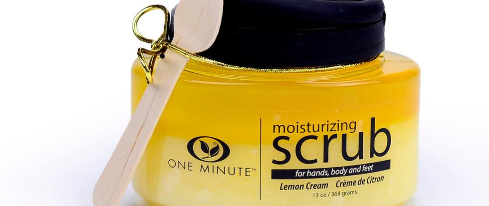 13oz Exfoliating Lemon Cream Salt Scrub