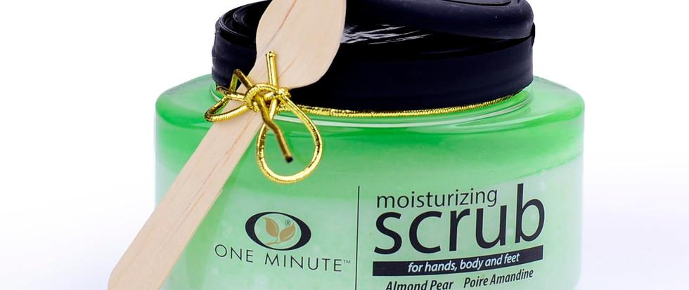 13oz Exfoliating Almond Pear Salt Scrub