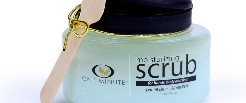 13oz Exfoliating Lemon Lime Salt Scrub