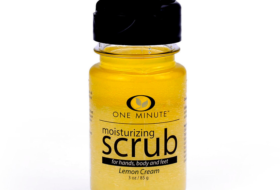 3oz Exfoliating Lemon Cream Salt Scrub