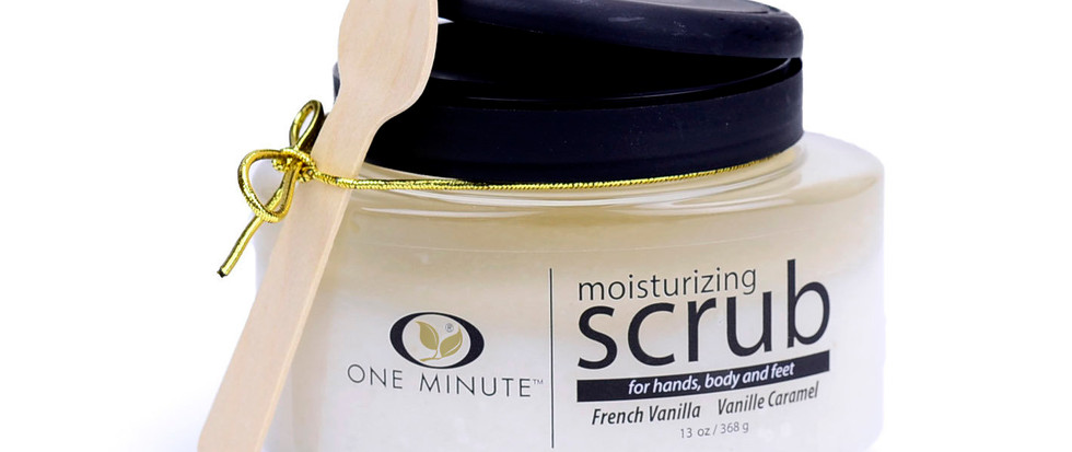 13oz Exfoliating French Vanilla Salt Scr