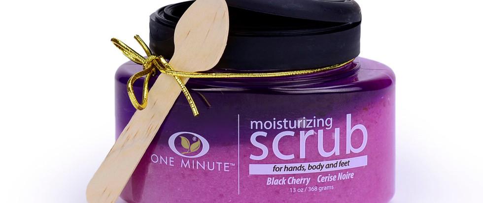 13oz Exfoliating Black Cherry Salt Scrub
