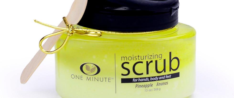 13oz Exfoliating Pineapple Salt Scrub