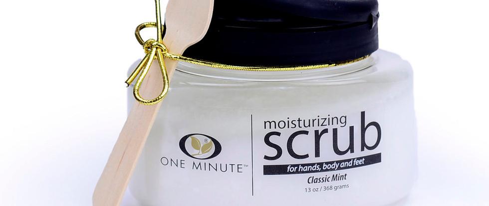 13oz Exfoliating Classic Mint Salt Scrub