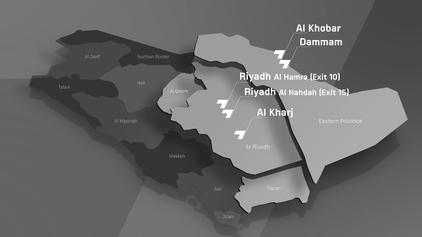 KSA Seven Mapa