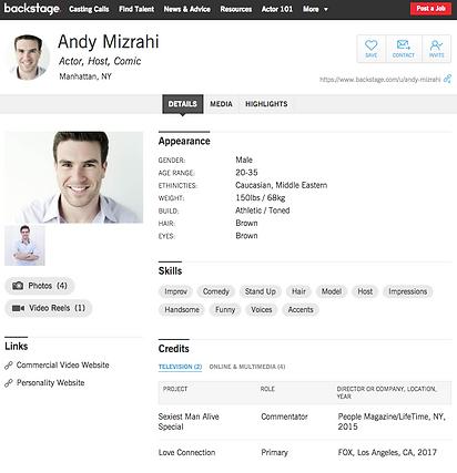 Andy Mizrahi