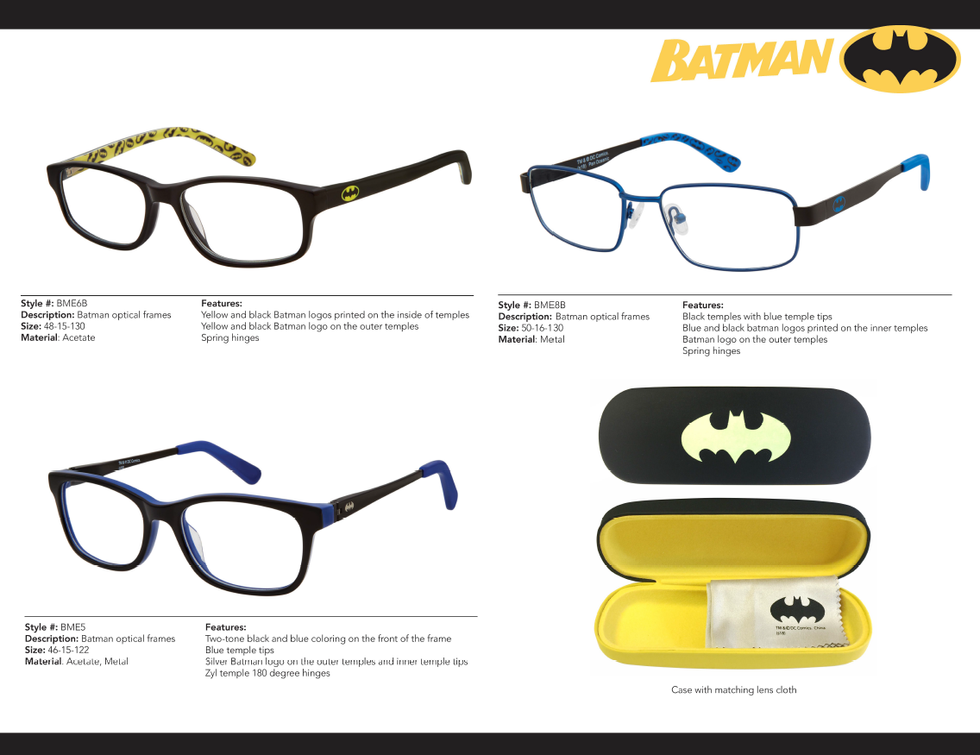 Batman Optical
