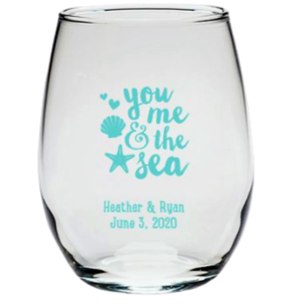 Go Bottomless If You Dare... beach wedding favors