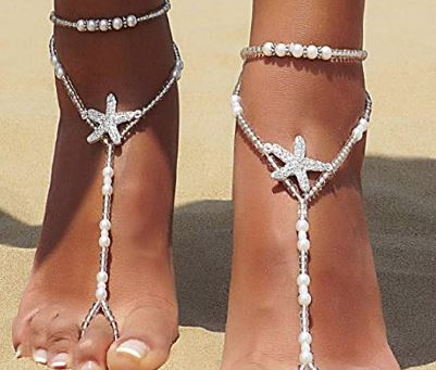 Jewelry for your Sandy Toes