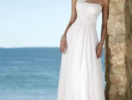 "The Perfect Beach Wedding Dress Part 1 -""Under $100"""