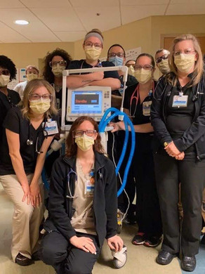 Donation #5... The Respiratory Unit at LGH!