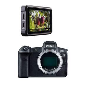 2 - Canon EOS-R w/ Ninja V, ND Filter Adapter