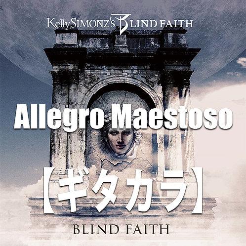 【ギタカラ】Allegro Maestoro【Backing Track】