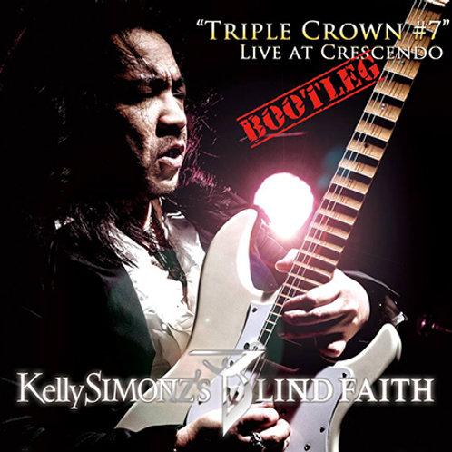 "【DVD】Kelly SIMONZ's BLIND FAITH ""Live at Crescendo"""
