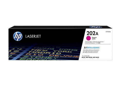 HP 202A - magenta - original - LaserJet - toner cartridge