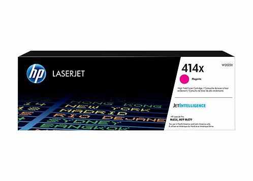 HP 414X - High Yield - magenta - original - LaserJet - toner cartridge