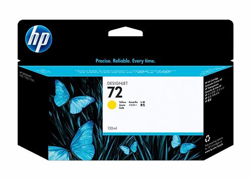 HP 72 Yellow Ink Cartridge