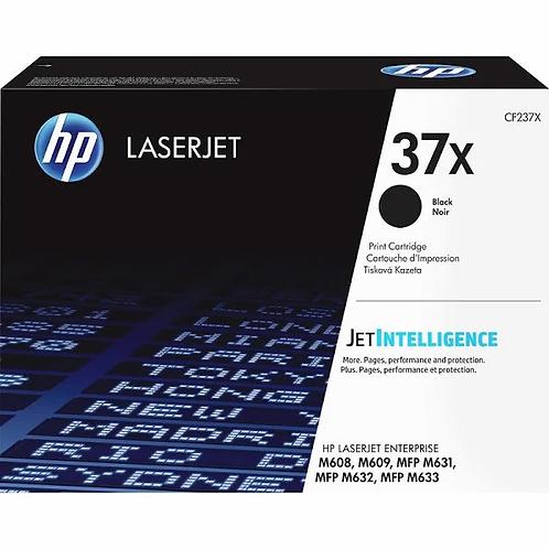 HP 37X - High Yield - black - original - LaserJet - toner cartridge