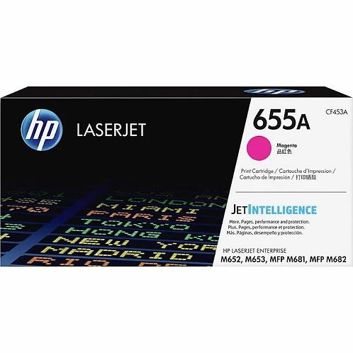 HP 655A - magenta - original - LaserJet - toner cartridge
