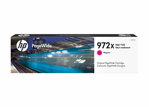 HP 972X - High Yield - magenta - original - PageWide - ink cartridge