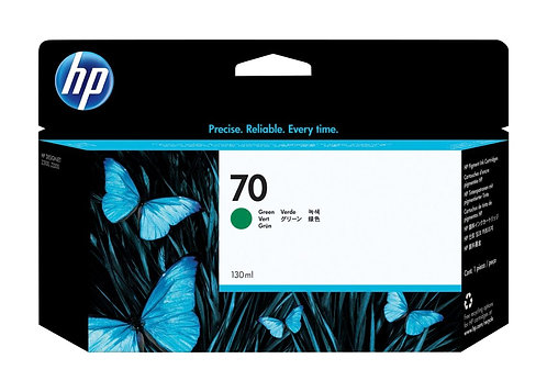 HP 70 Green Ink Cartridge