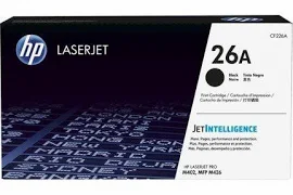 HP 26A - black - original - LaserJet - toner cartridge