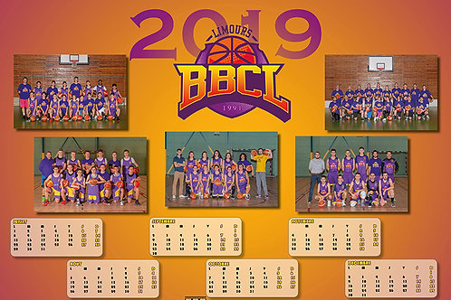 Calendrier BBCL 2019