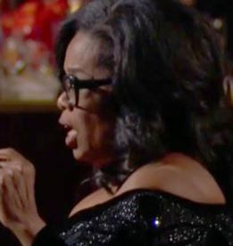 When Oprah speaks even bullies listen....