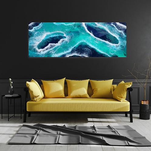 Abstract Reef Wall Art