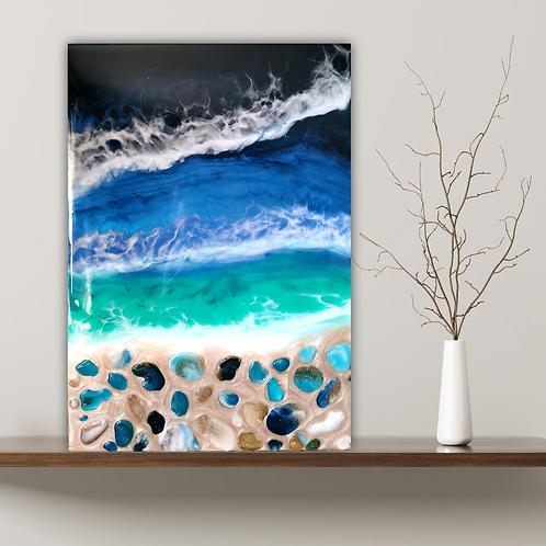'Pebble Beach' wallart