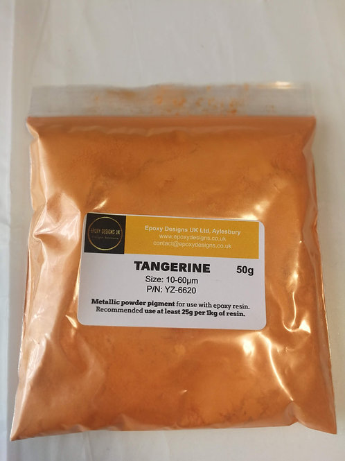 Tangerine Powder Pigment