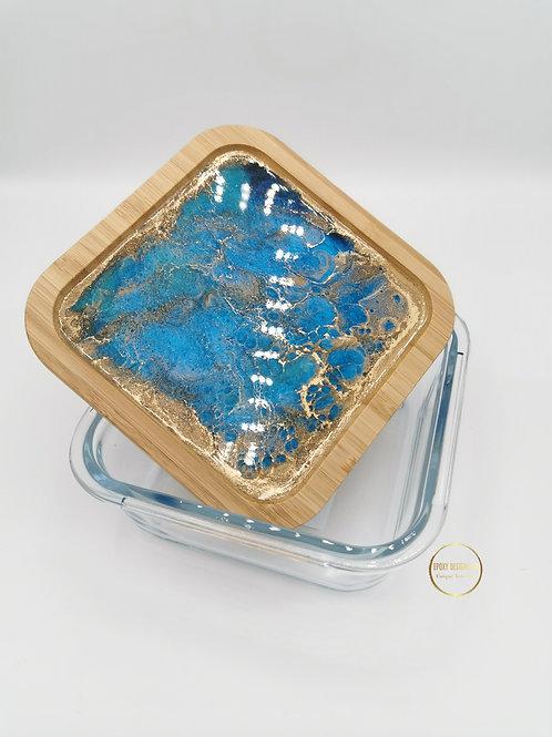 Storage jar blue