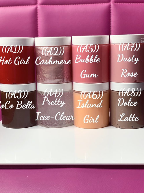 Lipgloss Squeeze Tube (Pre-Made Lipgloss Tubes-Wholesale)