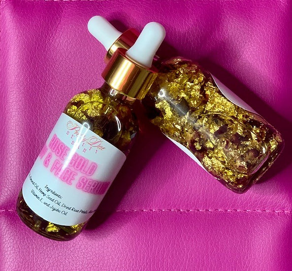 Rose Gold Glow Body & Face Serum