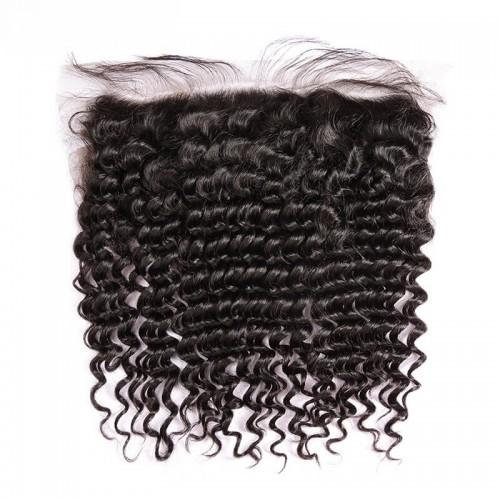 Deep Curly Frontal (13*4)