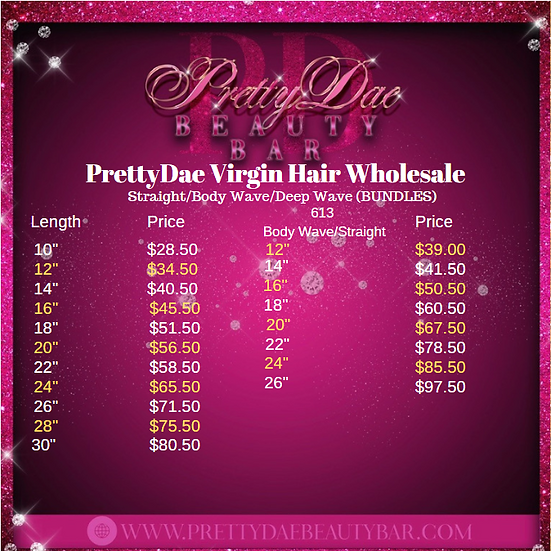Luxury Hair Wholesale