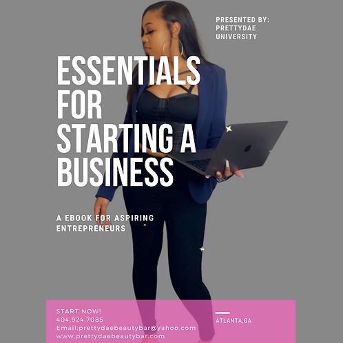 Essentials For Starting A Business Ebook