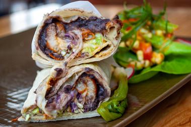 Agave Uptown Fish Burrito
