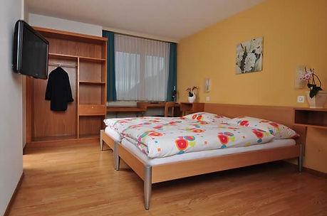 Doppelzimmer im Hotel-Restaurant Jura in Brügg bei Biel