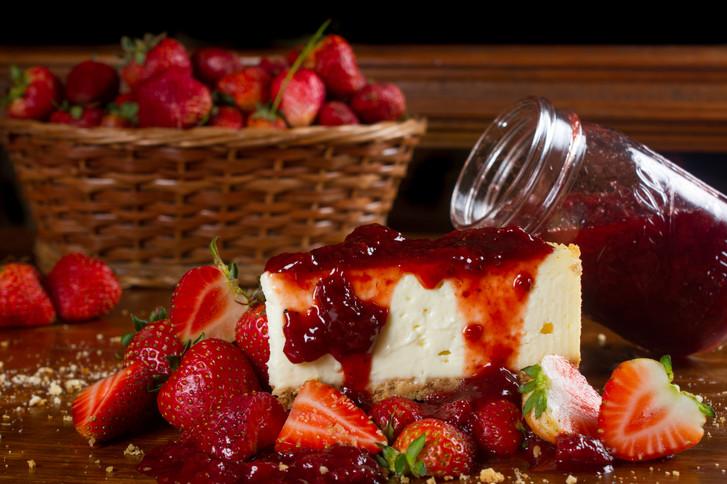 cheese cake fresa