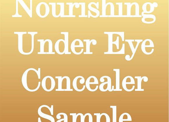 Nourishing Under Eye Concealer Sample