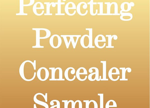 Perfecting Powder Sample