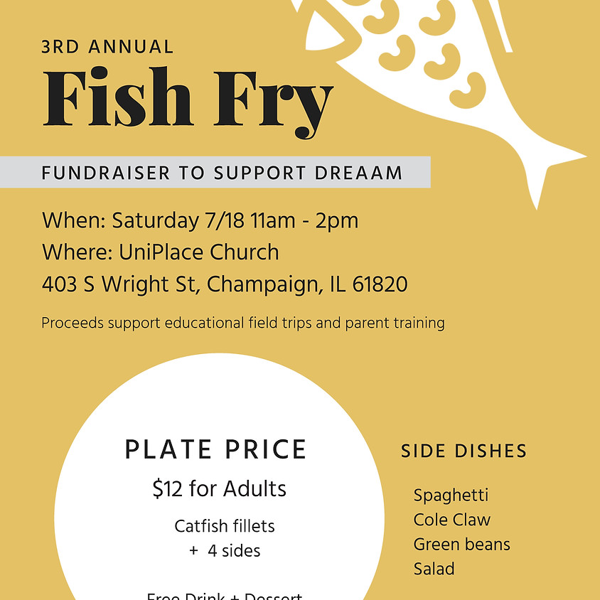 CANCELED - 3rd Annual Fish Fry - CANCELED