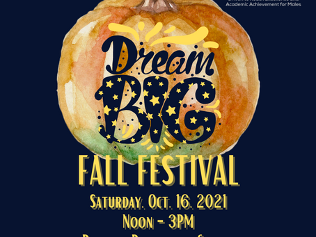18 Days Until DREAAM's Inaugural Dream Big! Fall Festival